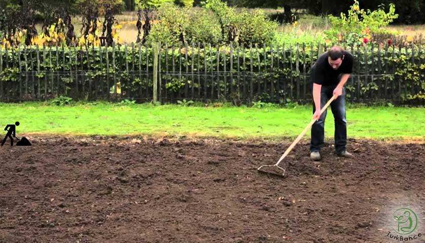 bahçe toprağı düzeltme